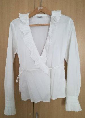 Marella Kopertowa bluzka biały