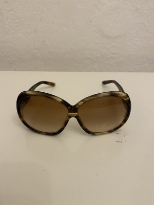 Tom Ford Square Glasses brown