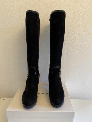 Wunderschönen Stiefel aus Veloursleder Von Zocal Gr.37. Neuwertig!!!