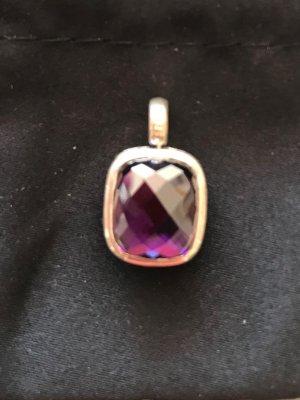Thomas Sabo Pendentif argenté-violet foncé métal