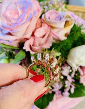 Wunderschöner Bellagio Ring in Roségold