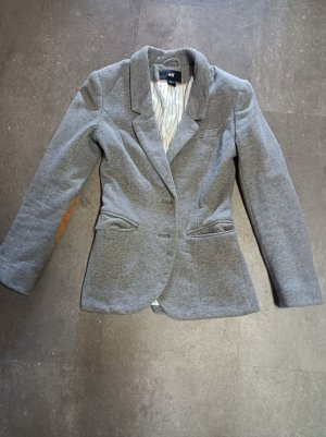 H&M Tuxedo Blazer grey