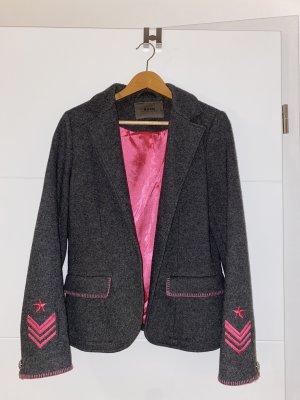 Malvin Blazer in lana multicolore