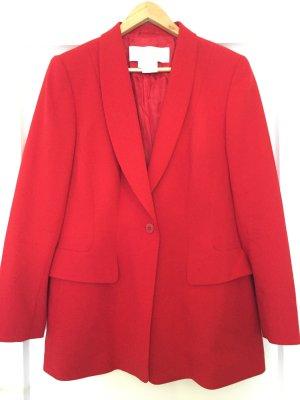 Escada Wool Blazer red-bright red new wool