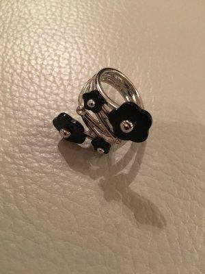Wunderschöner Blumenring Ring , Gr. 58