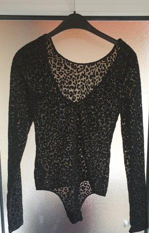 Pieces Shirtbody zwart