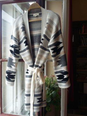 H&M Manteau en tricot multicolore acrylique