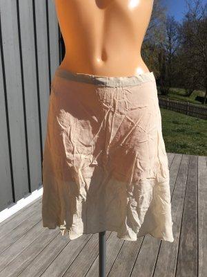 imitz Flared Skirt cream-oatmeal viscose