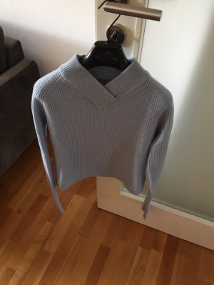 COS Knitted Sweater baby blue