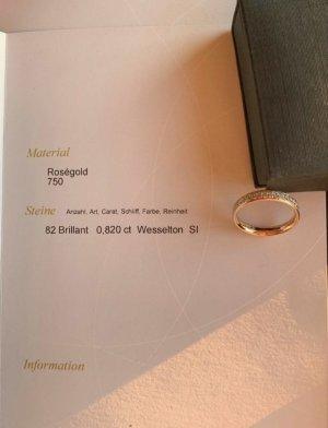 Gouden ring roségoud Goud