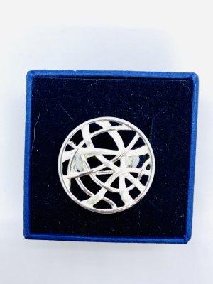 Juwelier Statement ring lichtgrijs