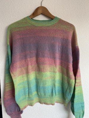 Wunderschöner dye oversized pullover Strick y2k