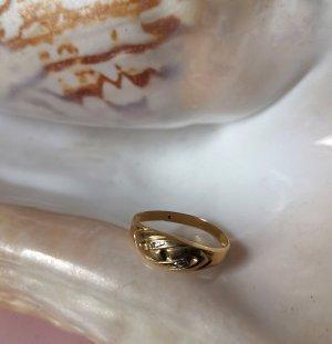 Christ Anello d'oro oro Tessuto misto