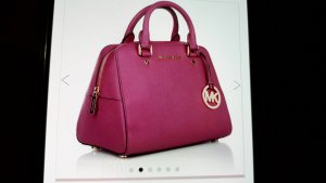 ***Wunderschöner eleganter Shopper Michael Kors Pink Leder***