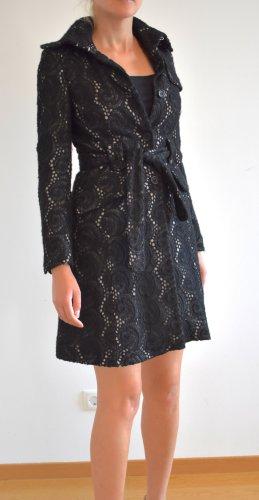 KAREN MILLEN Wool Coat black-dark brown