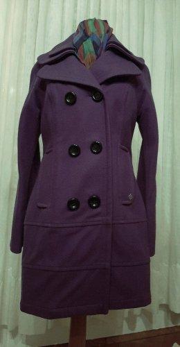 SPOON Manteau en laine multicolore laine