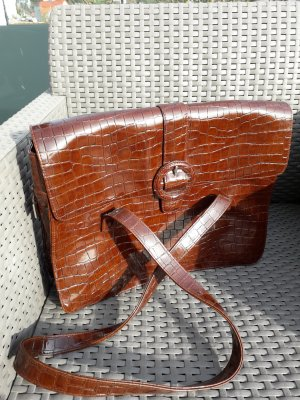 Fossil Shopper dark brown
