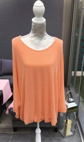 100% Fashion Kimono sweater abrikoos