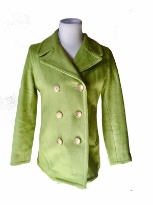 Gap Pea Coat lime-green