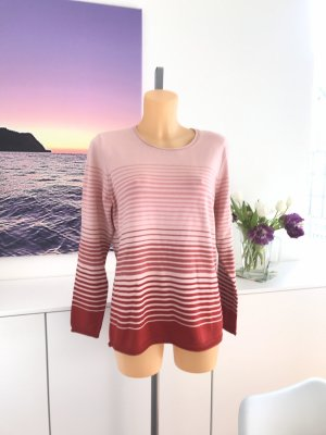 Olsen Knitted Sweater multicolored cotton