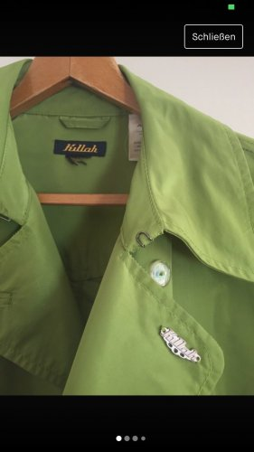 "Wunderschöner grasgrüner Trenchcoat ""Killah"""