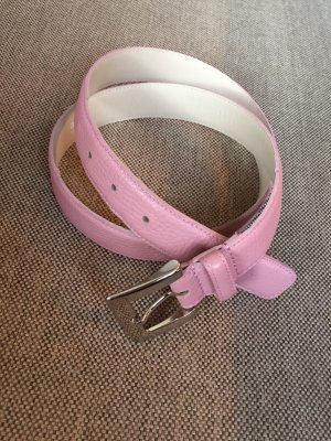 abro Leather Belt pink leather