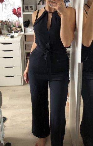 H&M Traje de pantalón azul oscuro