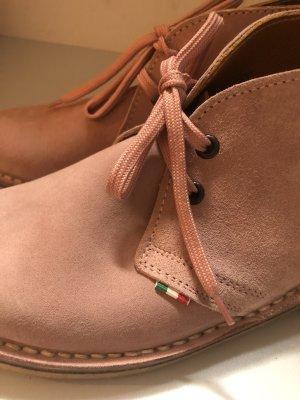 Scarpa stringata rosa-rosa chiaro Pelle
