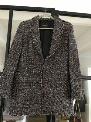 Wunderschöner Long-Blazer im Tweed-Look von Massimo Dutti. Neu ohne Etikett.
