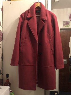 C&A Abrigo de invierno magenta-rojo frambuesa Poliéster