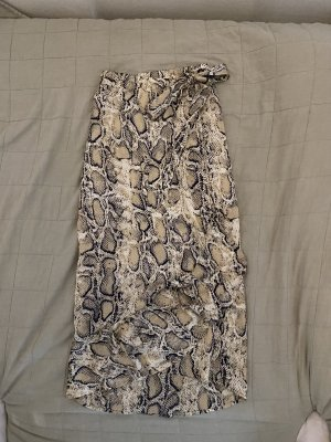 Selected Femme Wraparound Skirt multicolored