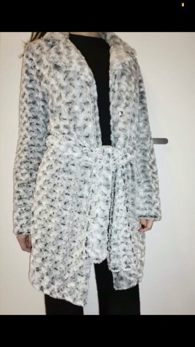 Fake Fur Coat white