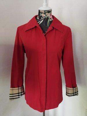 wunderschöner Original Burberry Blazer Jacke rot Gr M 38