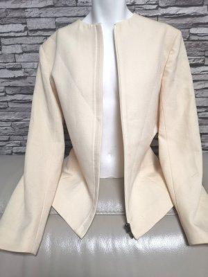 VERSUS Versace Wool Blazer oatmeal wool