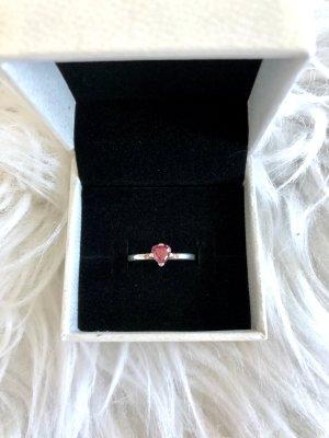 Wunderschöner Pandora Ring mit Herz