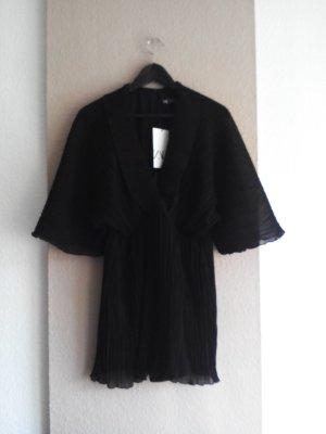 wunderschöner plissee-Jumpersuit in schwarz, Größe M, neu