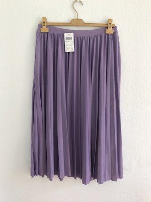 Hallhuber Jupe plissée violet polyester