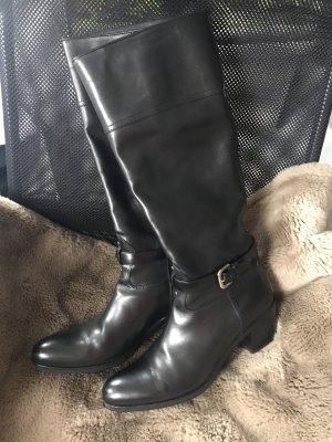 Wunderschöner Prada Absatz Stiefel * schwarz * Echtleder