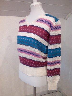 wunderschöner Pullover, gestreift,Gr.36/S