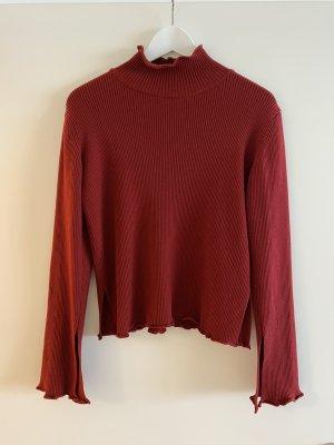 Wunderschöner Pullover mit Wolle