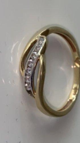 Juwelier Bague en or doré