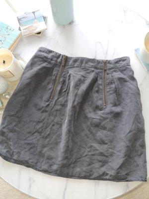 Promod Jupe mi-longue gris