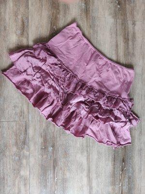 Zara Mini-jupe rose coton
