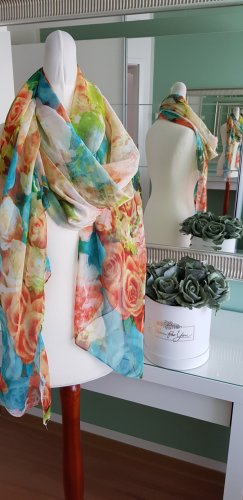 Tube Scarf multicolored polyester
