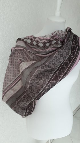 Blue Motion Tube Scarf multicolored