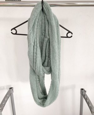 Atmosphere Tube Scarf pale blue