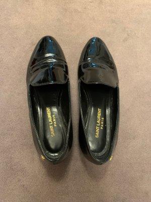 Wunderschöner schwarzer Loafer Saint Laurent