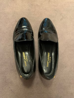 Saint Laurent Pantofola nero