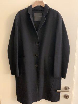 Ermanno Scervino Cappotto in lana nero