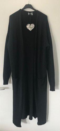 kiwi Cappotto a maglia nero